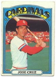 1972 Topps Baseball Cards      107     Jose Cruz RC